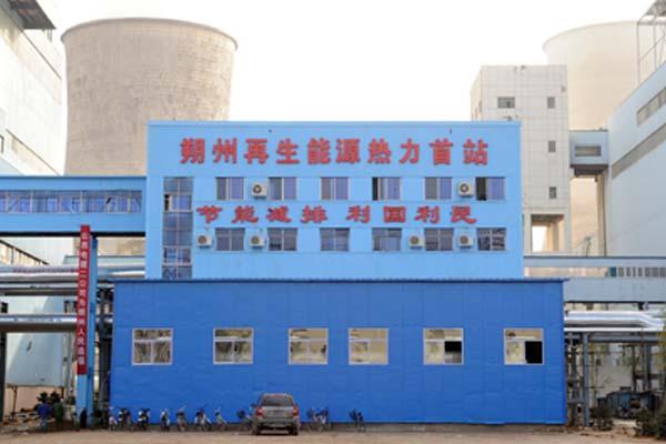 朔州热电联产集中供热热力首站外管网